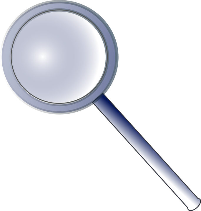 magnifying lens glass tool free vector graphic on pixabay