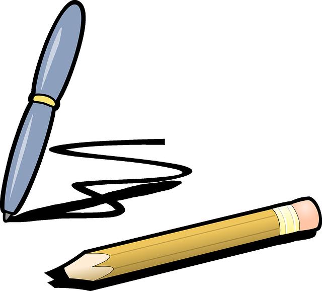 stylo dessin