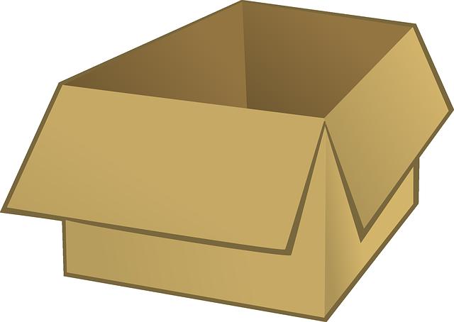 image vectorielle gratuite bo te en carton d 39 emballage image gratuite sur pixabay 23649. Black Bedroom Furniture Sets. Home Design Ideas