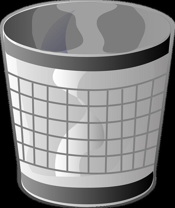 trash can garbage waste basket free vector graphic on pixabay trash can garbage waste basket free