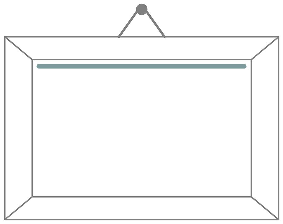 Picture Frame Vector Graphics Pixabay Download Free Images