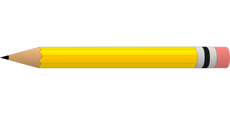 Horizontal Pencil Clipart