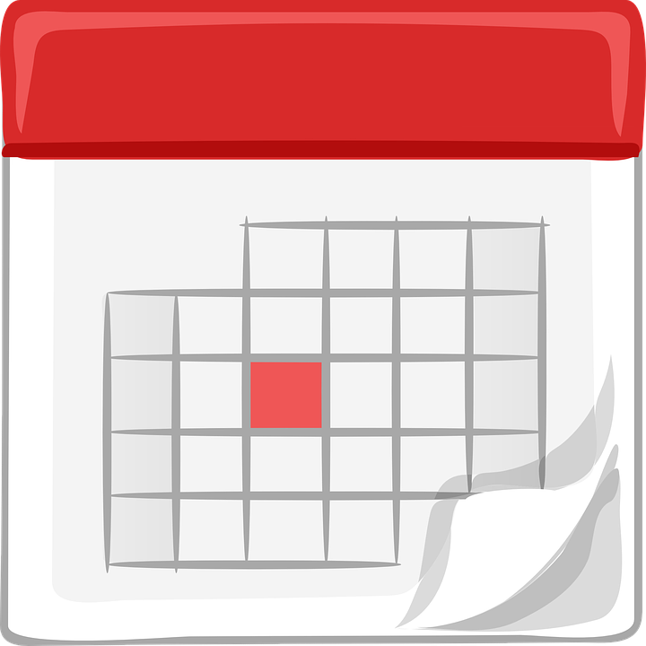 Weekly Calendar Vector : Calendar monthly office · free vector graphic on pixabay