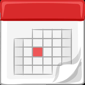 Kalendár, Mesačne, Kancelária, Plán