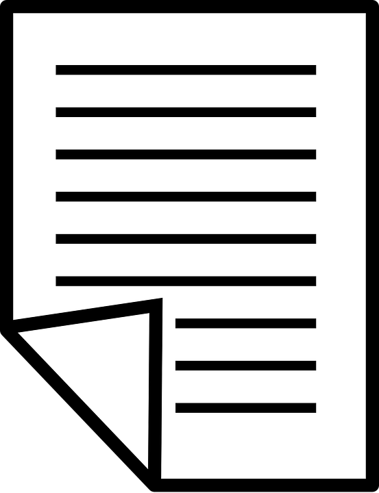 Free vector graphic: Paper, Document, Text, Layout - Free Image on Pixabay - 23701