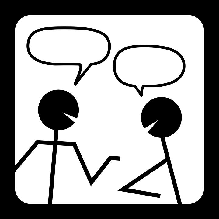 チャット, ディスカッション, 会議, 話, 会話, 話す, 通信, アイコンを, バブル, デザイン, 友情