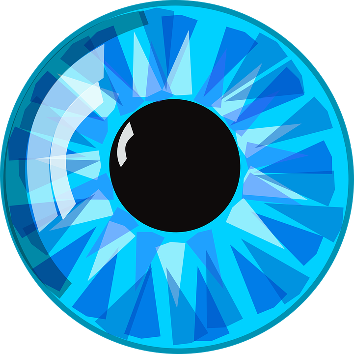 Eye Blue Pupil · Free vector graphic on Pixabay
