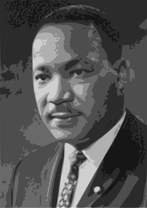 Martin Luther King Free Vector Graphic On Pixabay