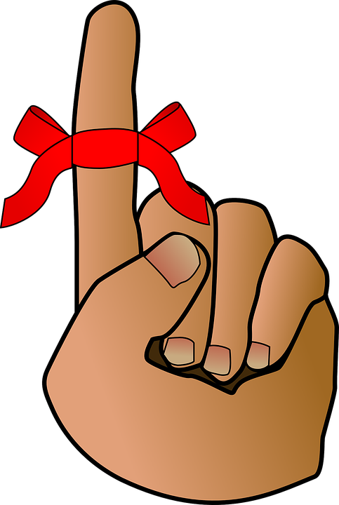 Reminder Bow Red Ribbon Free Vector Graphic On Pixabay