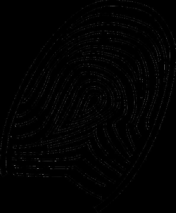 thumb fingerprint print free vector graphic on pixabay