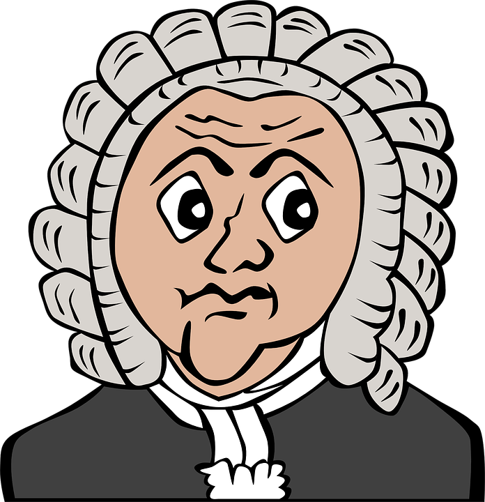 Free Vector Graphic Barrister Wig Attorney Robe Free