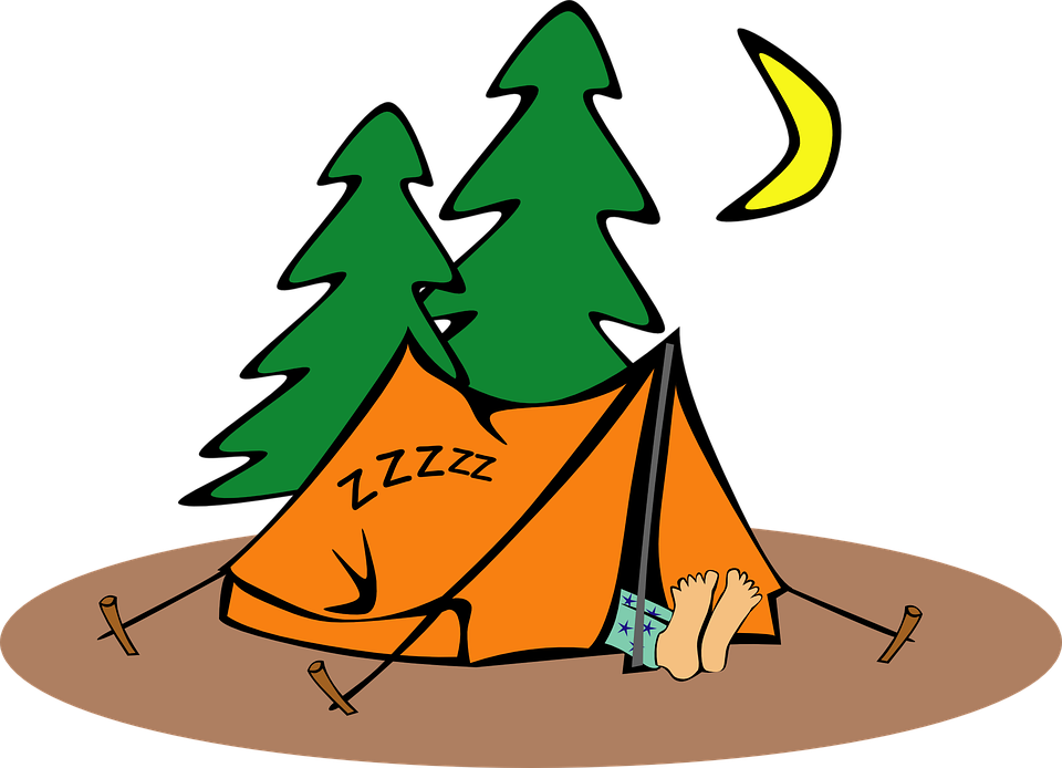 C&ing Humor Tent Humorous Sleeping Loner  sc 1 st  Pixabay & Free vector graphic: Camping Humor Tent Humorous - Free Image ...