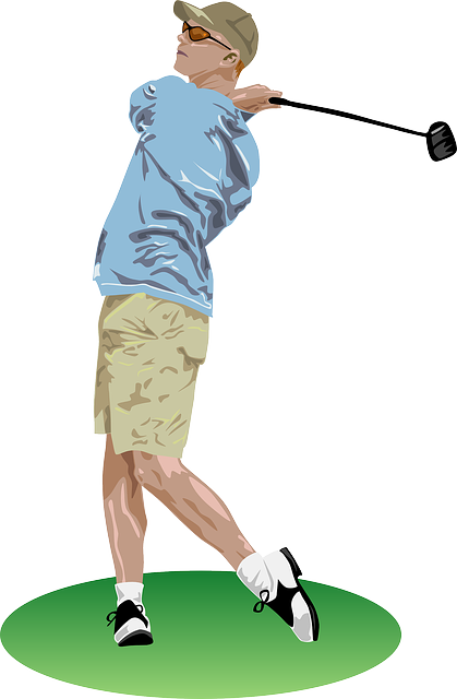 Free vector graphic: Golf, Golfer, Playing, Player - Free ...