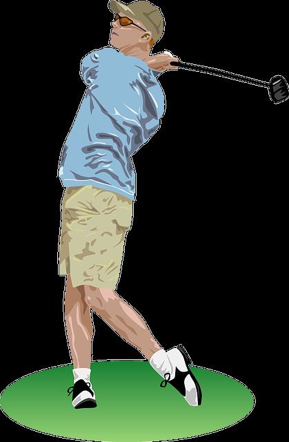 RoyaltyFree RF Clipart of Golf Clubs Illustrations