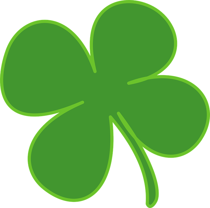 Four Leaf Clover Shamrock Luck Free Vector Graphic On Pixabay
