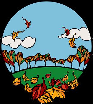 Autumn, Fall, Seasons, Colourful, Leaves