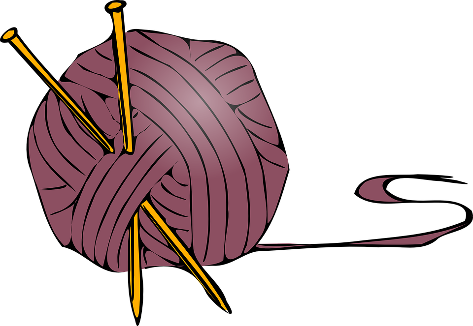 Knitting Ball Wool - Free vector graphic on Pixabay