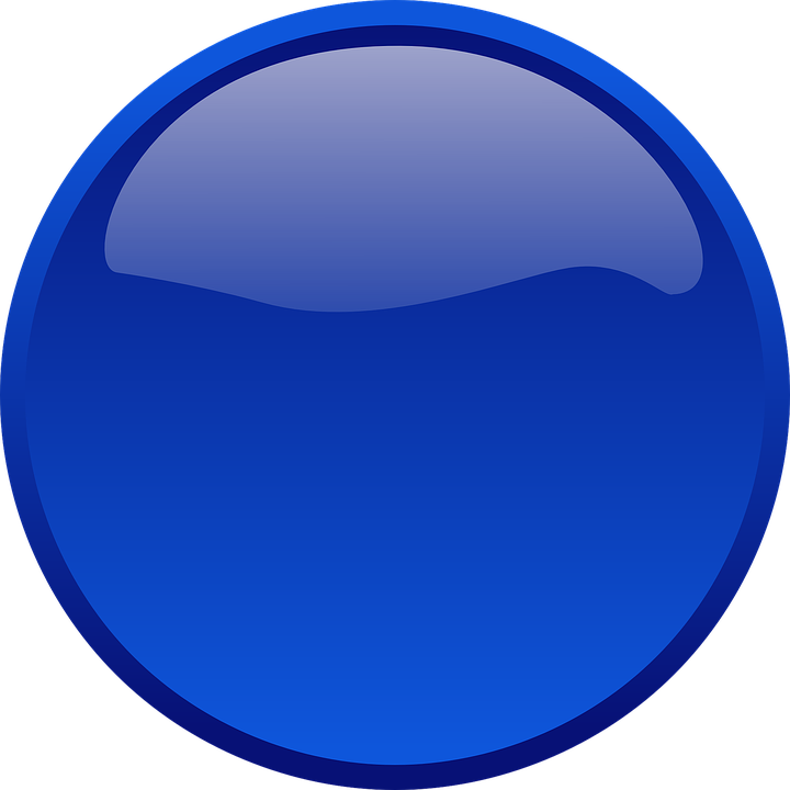 Button, Kreis, Form, Blau, Glas, Computer, Glänzend