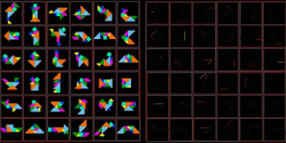 Extremamente Chinês Animais Quebra Cabeça · Gráfico vetorial grátis no Pixabay KN36