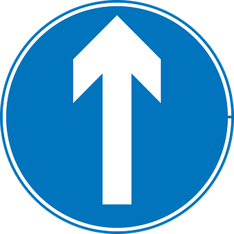 Verkehr, Zeichen, Symbole, Straße