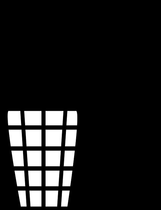 image vectorielle gratuite poubelle corbeille ordures