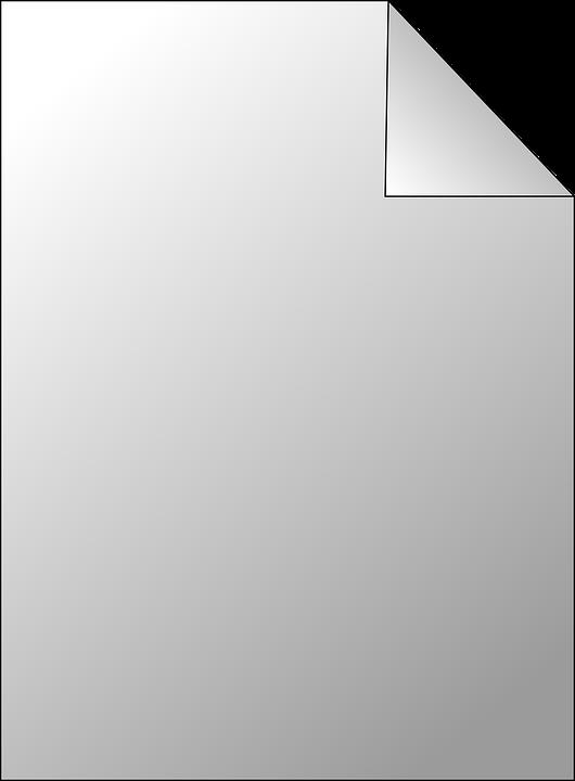 vector gratis p gina hoja de papel en blanco imagen gratis en pixabay 24020. Black Bedroom Furniture Sets. Home Design Ideas