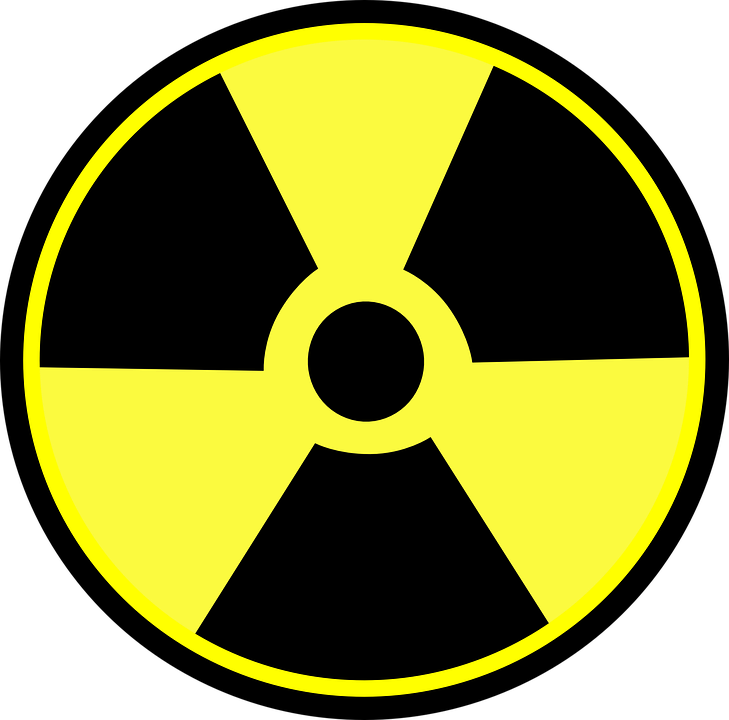 free vector graphic radioactive danger nuclear free