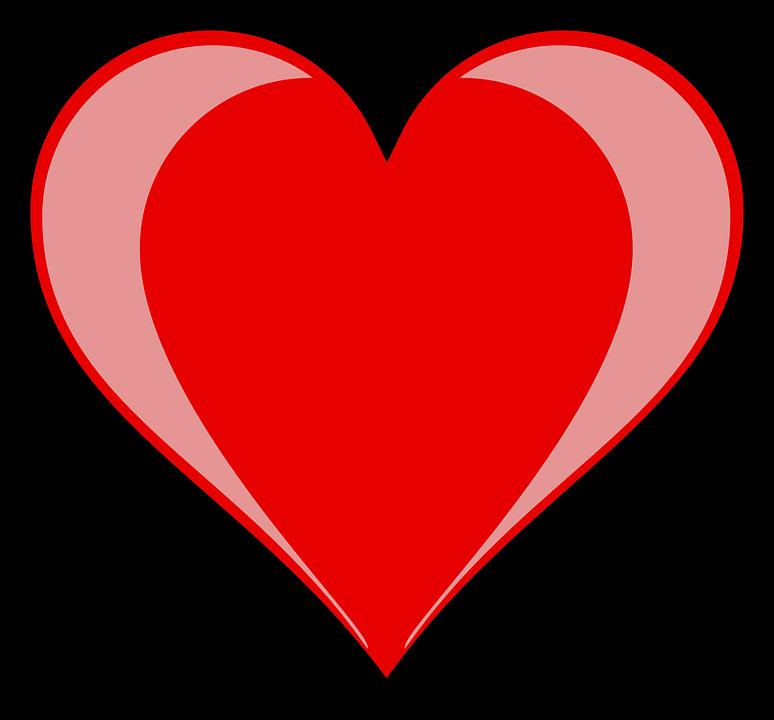 Hart, Vorm, Registreer, Red, Romantische, Romance