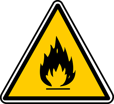 Inflammable, Sign, Hazardous, Symbol