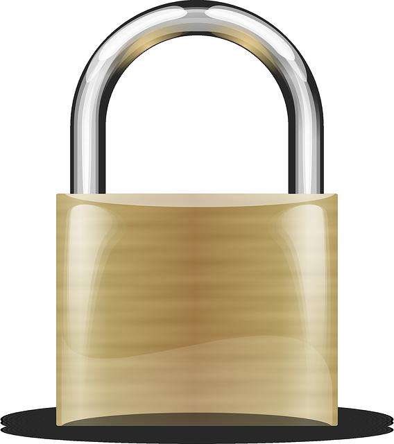Free Vector Graphic Padlock Portable Locks Shackle