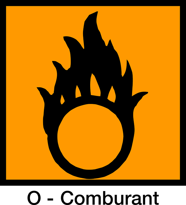 flammable sign free vector graphic sign combustible oxydizing free image on