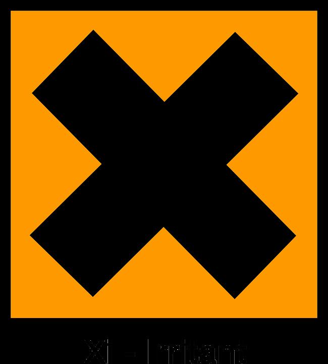 Irritant Harmful Symbol Free Vector Graphic On Pixabay