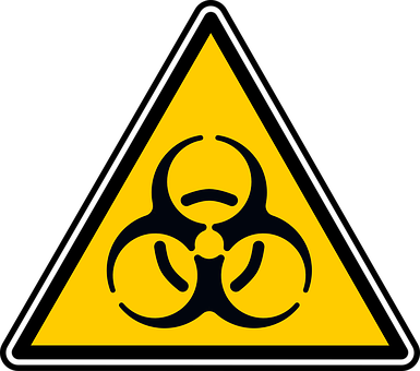 Biohazard, Sign, Alert, Symbol