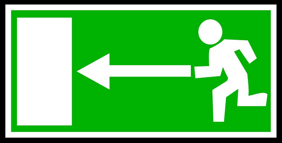 b7ea2b1391063 Señales Salida De Emergencia - Gráficos vectoriales gratis en Pixabay