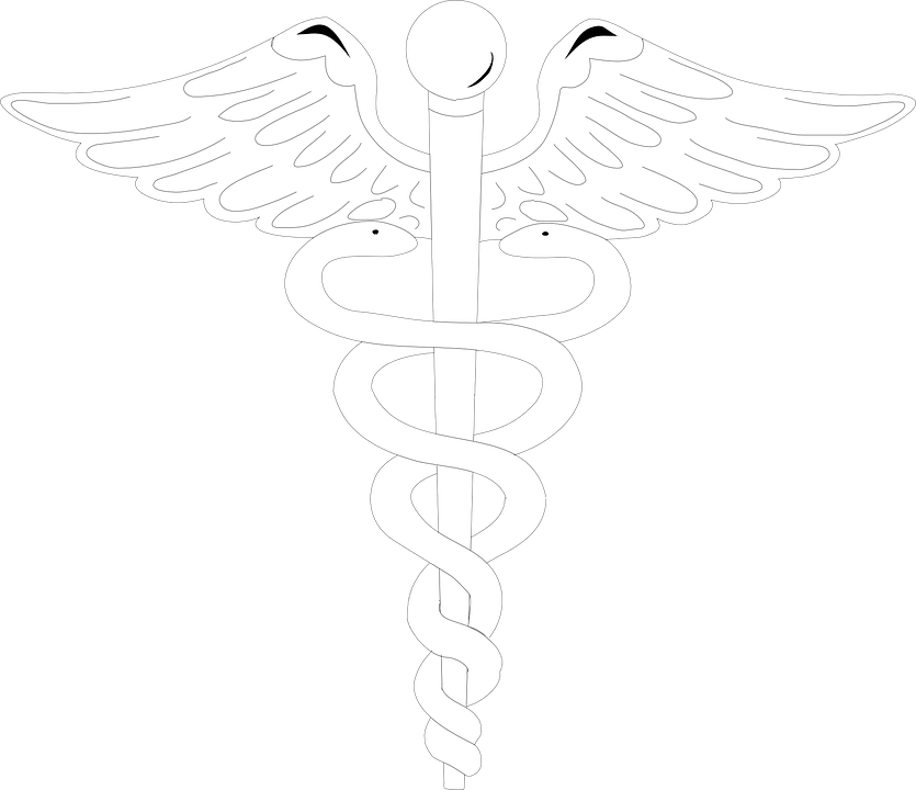 Logo Medical Caduceus Free Vector Graphic On Pixabay