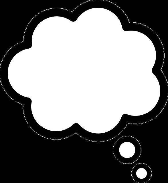 image vectorielle gratuite  pens u00e9es  discours  bulles  id u00e9e - image gratuite sur pixabay
