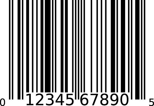 free vector graphic  bar code  information  data