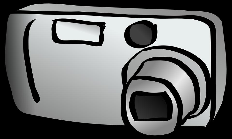 Dijital Fotograf Makinesi Kompakt Pixabay Da Ucretsiz Vektor Grafik