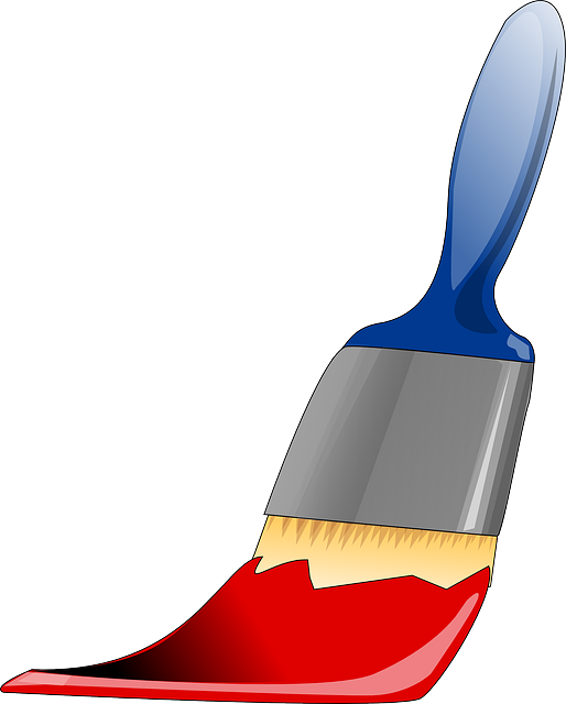 Paintbrush Tool Painting · Free vector graphic on Pixabay
