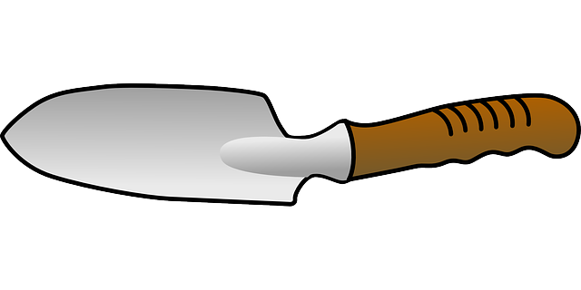 Trowel Tool Digging 183 Free Vector Graphic On Pixabay