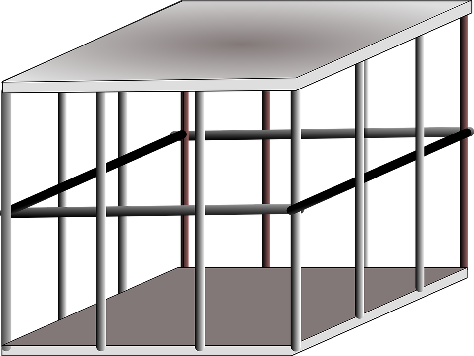 kostenlose vektorgrafik k fig metall gefangen stahl kostenloses bild auf pixabay 24295. Black Bedroom Furniture Sets. Home Design Ideas