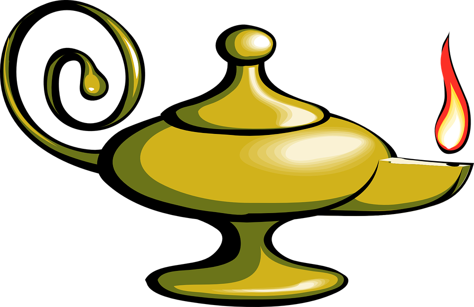 Free Vector Graphic Magic Lamp Lantern Oil Genie