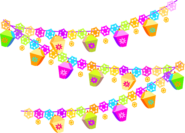 Free vector graphic decorations birthday colorful for Decoration 640
