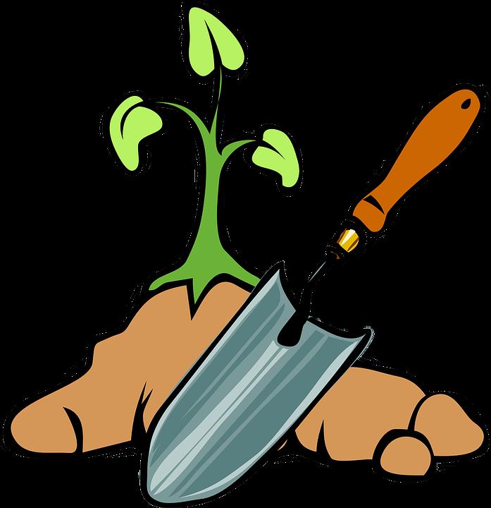 Bêche, Outils, Plantes, Jardin, Des Sols, Creuser