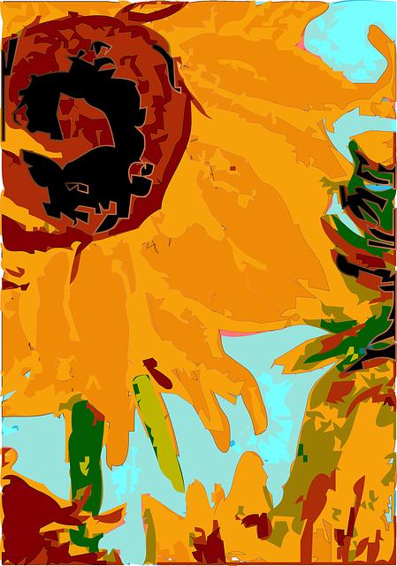 Free Vector Graphic Flowers Paint Vincent Van Gogh