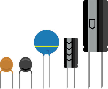 Capacitor, Electronic, Component