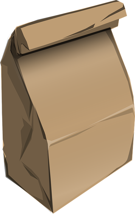 Bag, Paper, Brown, Food, Sack, Packaging, Groceries