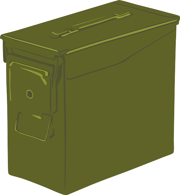 Free Vector Graphic Ammo Can Box Container Ammo Can