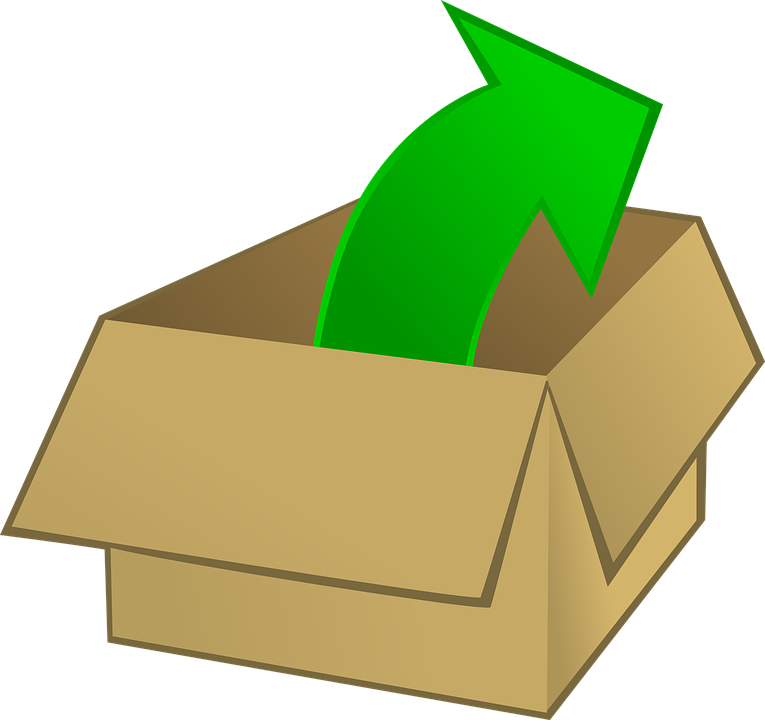 Box Open Taking Out Free Vector Graphic On Pixabay