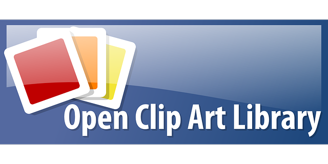open clip art library logo design free vector graphic on pixabay rh pixabay com open clipart commercial use open clipart commercial use